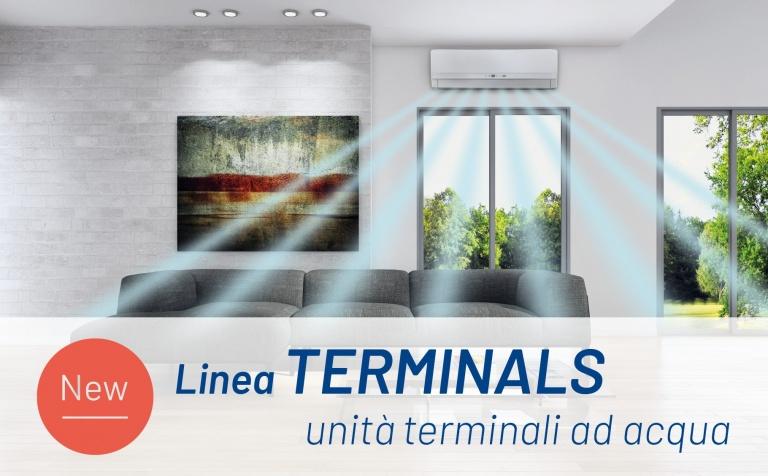 Linea Terminals - Unità terminali ad acqua