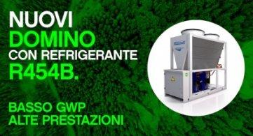 Nuovi Domino con refrigerante R454B