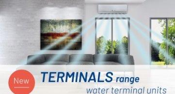 Terminals range - Water terminal units