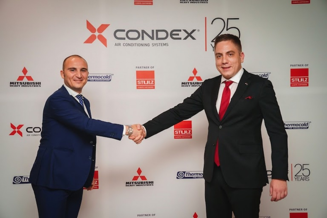 Thermocold at Condex 25th anniversary celebration