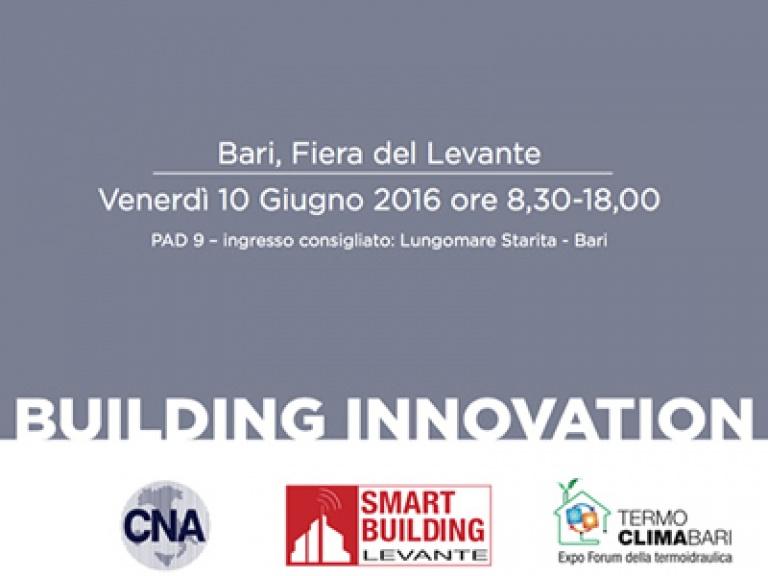 Building innovation - Nuovi orizzonti del costruire