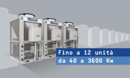 Domino: linea di gruppi frigoriferi modulari monoblocco.