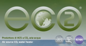 ECO2: High efficiency air to water CO2 heat pumps