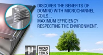 Domino and Domino Ea with Microchannel coils starting from March 2017.