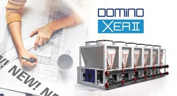 Domino XEA II: the new MODULAR and extra-COMPACT chiller